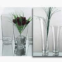 China decorative vase sets ,glass vase centerpieces on sale