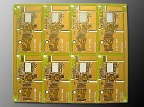 Rogers Ro4350 Gold Ceramic PCB Substrate , Double Sided PCB