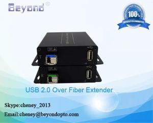 China Long range USB2.0 fiber extender,USB2.0 to fiber converter for 5KM,USB2.0 video to fiber converter on sale