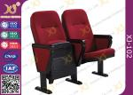 VIP Public Foldable Movie Theater Stadium Seating Chairs With Writing Pad