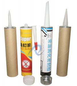 Quality Printed Paperboard Cartridge with Cap and Nozzle for sale