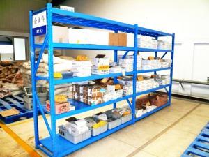 China Racking longo carregado mão do período dos artigos, sistema resistente do racking on sale