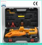Chinese manufacture  2 tons electric scissor  lifting car  jack and electric impact  wrench with wireless remote