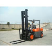 4 Wheel Diesel Forklift Truck 5 Ton 2240mm Turning Radius With Pneumatic Solid Tyre