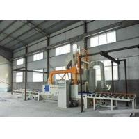 China Eco Friendly Roller Conveyor Shot Blasting Machine Anti - Fatigue For Steel Structure on sale
