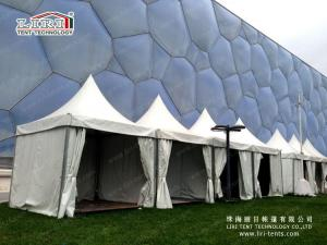 China White aluminum frame garden pagoda party tent used for outdoor events on sale