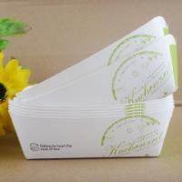 Foldble Paper Box Packaging , Paper Box For Hot Dog And Snack Packaging