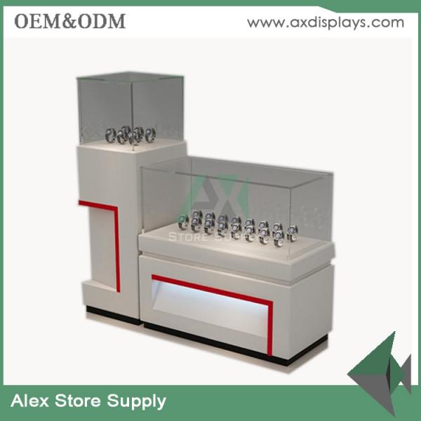 Watch Store Display Showcase Counter Design Images Glass Display Mdf