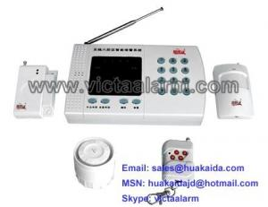 China 8 Zones Auto-dial Wireless Burglar Alarm System on sale