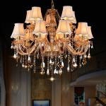 Amber crystal chandelier with Cheap Price (WH-CY-132)