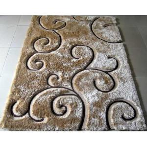 China Clouds Design Polyester Shaggy Rug Lucky China Made Polyester Shaggy Carpet on sale