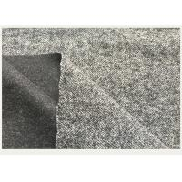 Men / Women Apparel Wool Blend Suiting Fabric With Small Herringbone Coat/Suit