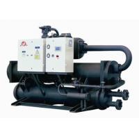 Outdoor Water To Water Geothermal Heat Pump , Heating Floor Groundwater Heat Pump