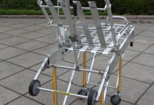 China Customized Punching Bending Aluminum Tube for Automatic Aluminum Stretcher on sale