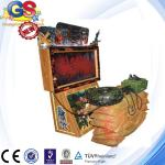 2014 3d coin operated rambo shooting game machine, gun simulator shooting game machine
