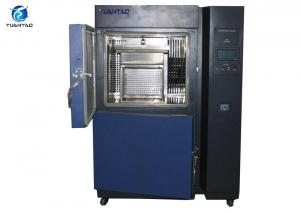 China LCD Touch Panel Control Thermal Shock Test Chamber Two Zones For Aviation / Military on sale