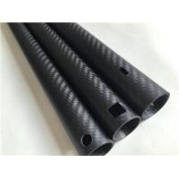 China gardening carbon tubes, carbon fiber pipes, carbon tube for cutting machine on sale