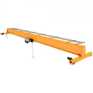 China 20T Bridge Overhead Crane  Single Beam Europe Type Yello Color 30m Max on sale