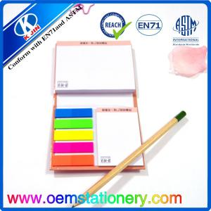 China Hardcover Memo Sticky Notes Color Sticky Note Pads Fluorescence Sticky Note for Gift on sale