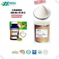 Pharmaceutical Grade L Arginine Base , Amino Acids Powder 99% Min Purity CAS 74 79 3