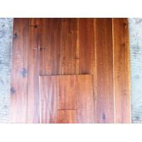 big leaf hand scraped solid Acacia wood flooring