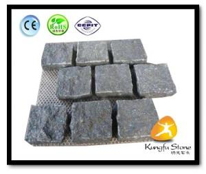 China Xiamen Kungfu Stone Ltd supply Split Net G684 Cobblestone For Paving Stone on sale