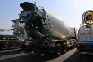 Quality 8×4 12m3 - 16m3 Concrete Mixer Truck Sinotruk Howo With External Force for sale