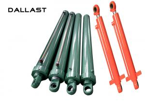 China Customized Double Rod End Hydraulic Cylinder for Garbage Truck on sale