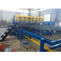 China Intelligent Wire Mesh Fencing Machine  PLC Control System , Custom Wire Mesh Making Machine on sale