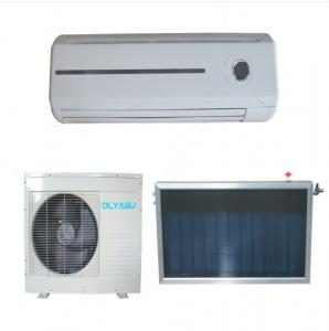China Olyair Flat plate collector type hybrid solar air conditioner on sale