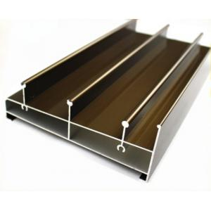 China Acid Resistant Extruded Aluminum Electronics Enclosure Track For Sliding Door on sale