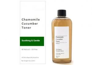 China Greenmakes Natural Skin Toner Soothing Calming Cucumber / Chamomile Face Toner on sale