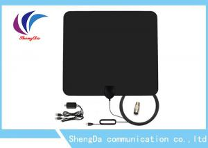 China Detachable Amplifier UHF VHF TV Antenna 3m RG174 Coax Cable Vertical Polarization on sale
