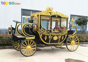 China Electric Cinderella Horse Carriage Wedding Automobile Technique Painting on sale