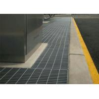 Platform Walkway Grating Trench Cover , Floor Trench Drain Grates