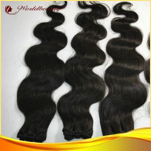 China 24 Inch Bodywave Remy Human Hair Extensions With No Shedding on sale