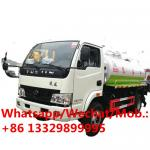 Cheaper price Yuejin 130hp diesel vacuum tanker truck for sale, HOT SALE! 6cbm fecal suction tanker vehicle