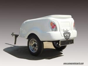 China Motorcycle Cargo Box/Motorcy Travel trailer on sale