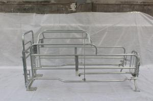 China Good Welding Pig Farrowing Crate Farming Equipment Free CAD Drawing Design on sale