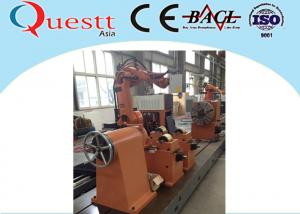 China Fiber YAG Laser Cladding Machine CO2 Type Quenching Water Cooling With Robot on sale