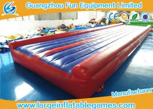China Gymnastics Inflatable Air Track Tumbling Sport Gym Mat For Training on sale