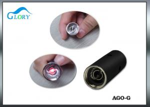 China Mini Black Rechargeable Wax Dry Herb Vaporizer AGO Pen Electronic Cigarette on sale