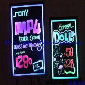 China LED Fluorescent Handwriting Board, Beautiful Eyesight Drawing, Flashing Multi-color on sale
