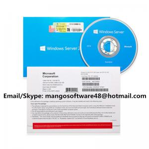 China English 64 Bit Microsoft Windows Server 2016 Standard 1pk DSP OEI DVD 2COU / 2VM on sale