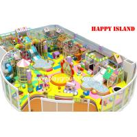 China Kids Indoor Soft Play Equipment , Kid Indoor Playground FREE DESIGN on sale