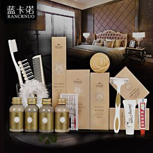 China RANCRNUO 4-5 Star hotel Eco-Friendly disposable toothbrush set Hotel Amenities on sale