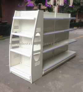 China Multi Colors Retail Display Stands Height 53 / 61 / 69 / 77 Metal Material Storage Racks on sale