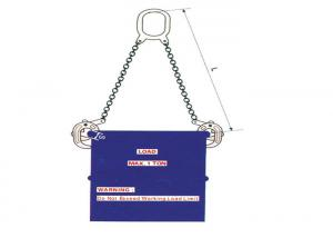 China 500kg Capacity Manual Drum Lifter Clamp In Horizontal Direction , Barrel Grabber on sale