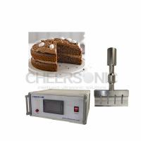 China 20KHZ Ultrasonic Food Cutting Machine For Chocolate Cake / Baked Cookies on sale