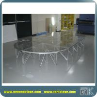 Popular Portable Stage Platform for Wedding/Speech/Party/Trade Show/Exhibition Event Stage from RK China Supplier